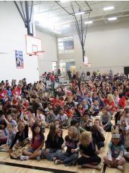 Conerstone Quatama Elementary School Students