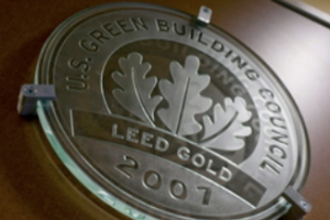 Conerstone MGI Rosa Parks Elementary School LEED Green Building Certification