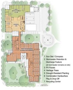 Conertone MGI Rosa Parks Elementary School Map