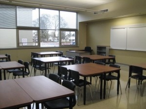 Cornerstone MGI South Meadows Middle School Classroom